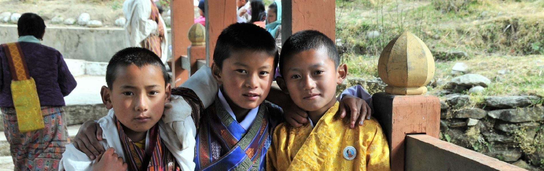 素敵な笑顔に出会う旅 ブータン旅行