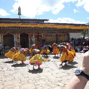 ブムタンのお祭り